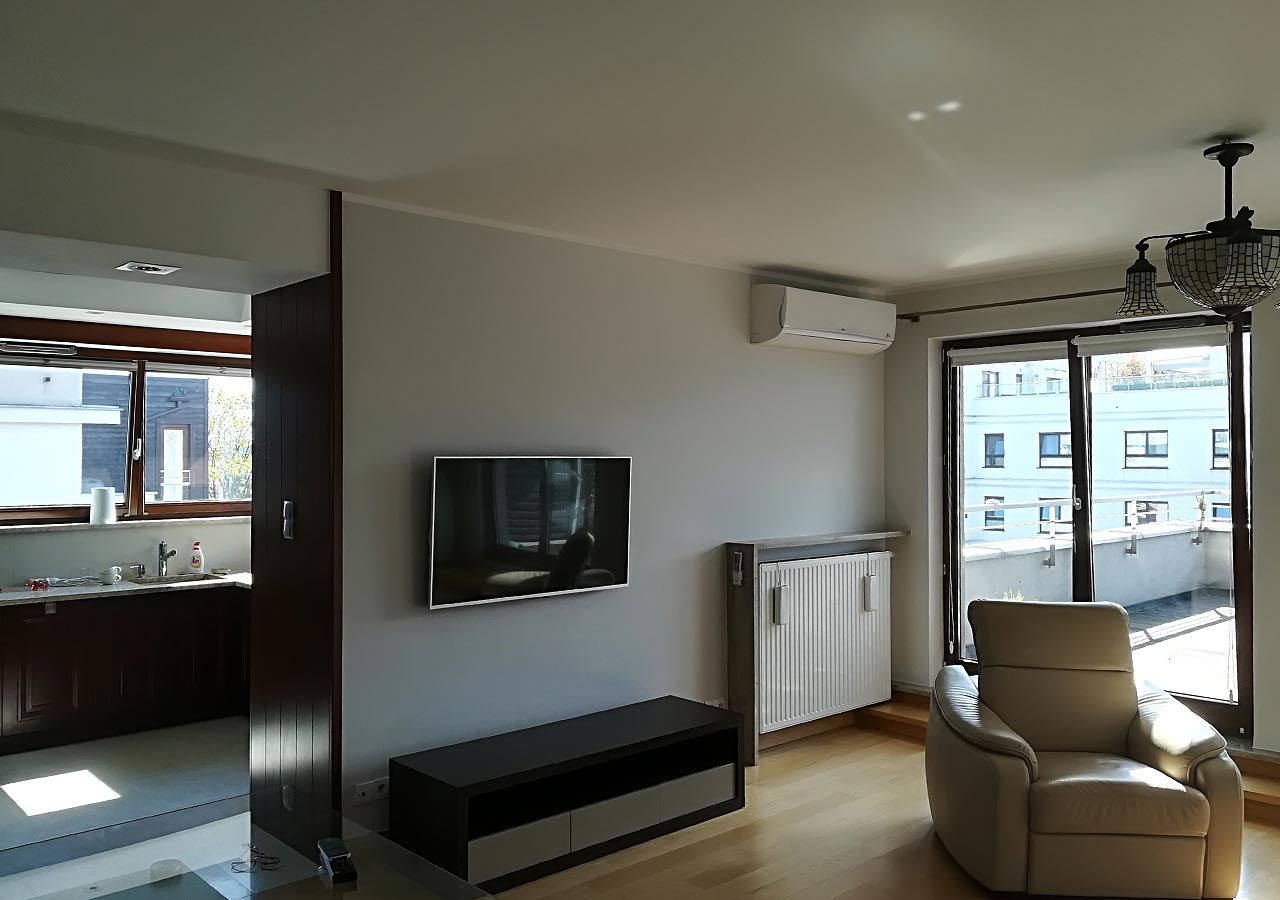 Malowanie apartamentu, kolejny zadowolony klient