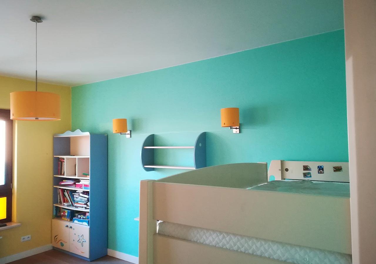 Łączenie kolorów w pokoju dzieci, perfekt