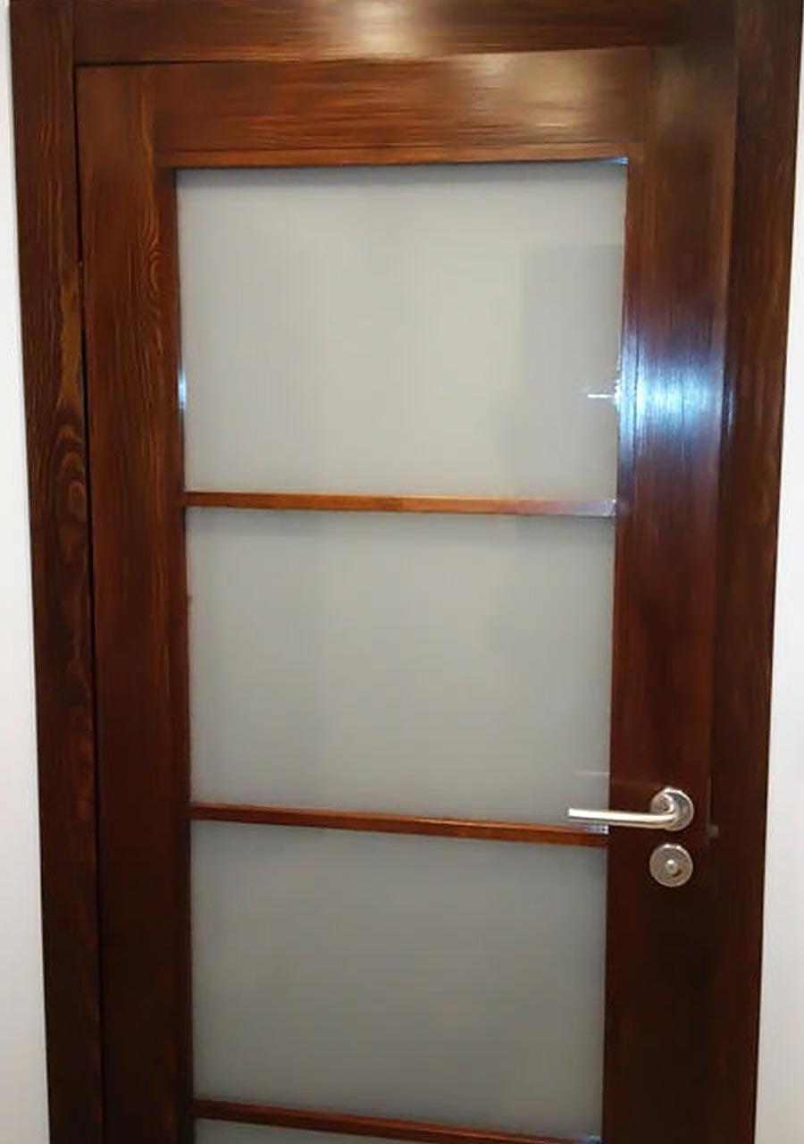 Renowacja drzwi, wyszły jak nowe